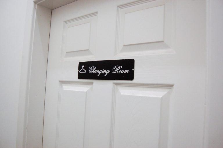 Changing Room Door