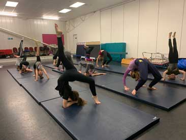 Our Acro students
