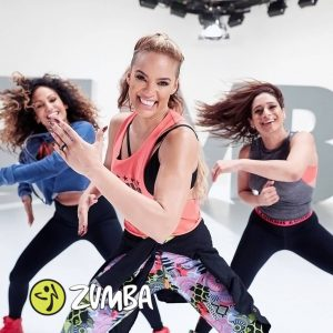 Zumba women working out