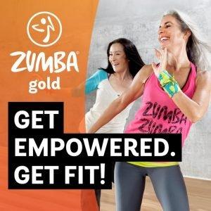 Zumba Gold two women dancing