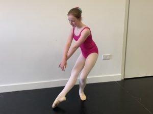 Elise Tuohy ballet pose